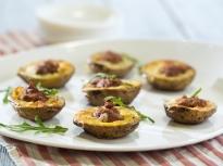 Пълнени картофи с маслини и сушени до...