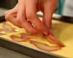 Царевичен кекс с круши 6