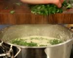 Спаначена супа със сирена 4