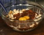 Брауни с вишни и течен шоколад 2
