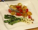 Салата от пресен лук и домати 4