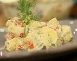 Картофена салата с дресинг от кашу 6