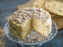 """Торта """"Наполеон"""" с домашни кори"""