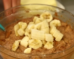 Козуначен пудинг с банани и шоколад 3
