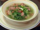 Супа с кренвирши и марули 2