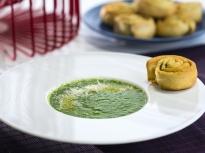Студена зелена супа