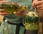 Студена зелена супа 5