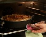Пай с пилешко, спанак и ориз 11