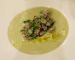 Студена супа от авокадо и нахут 4