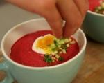 Студена супа от червено цвекло 5