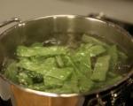 Салата от зелен фасул