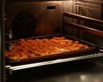 Салата от леща, печени моркови и репички 3