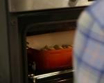 Свински пържоли със зеленчуци на фурна 5