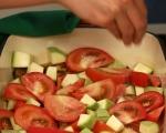 Свински пържоли със зеленчуци на фурна 6