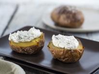Печени картофи с плънка от рикота