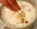 Студена супа от кисело мляко 6