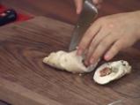 Пилешки рулца с бекон и печурки 6