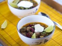 Супа топчета по мексикански