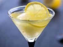 Лимоново сорбе с водка