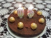 Торта с шоколадов крем