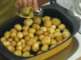 Салата с риба тон и пресни картофи
