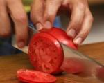 Салата от домати и резене 2