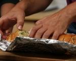 Чеснов хляб 5