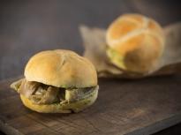 Лампредото (сандвич с шкембе)