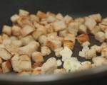 Топла салата от българска леща с пушени гърди 7