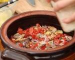 Печени миди с картофи и ориз 6