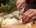 Яхния с пилешко и кореноплодни 4