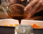 Салата от печена тиква със сирене 3