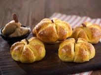 Тиквени хлебчета с медено масло