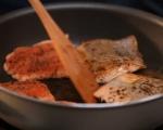 Сьомга със сос от хрян 6
