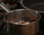 Супа с кестени, гъби и ечемик 3