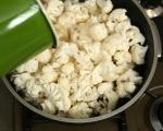 Крем супа от карфиол и нахут 2