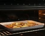 Ребра на фурна с печени картофи 5