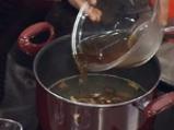 Кисело-сладка супа със свинско и тофу 3