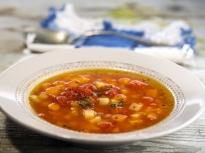 Супа с тиква и нахут