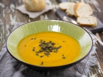 Супа от тиква и моркови