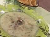 Супа от пачи крак с копър