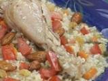 Пиле с бадемов ориз