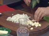Патладжани с топено сирене
