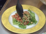 Нахутова салата с къри дресинг от кисело мляко 5