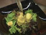 Пилешка салата със зелен фасул и картофи 5