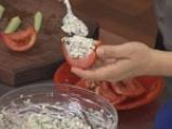 Пълнени зеленчуци с мандраджийска патладжанена салата 9
