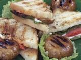 Сандвичи с печени печурки и чушкова м...