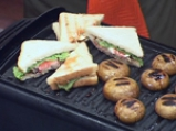Сандвичи с печени печурки и чушкова майонеза 5