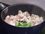 Пилешко гювече с царевичен крем 2