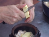 Пилешко гювече с царевичен крем 5